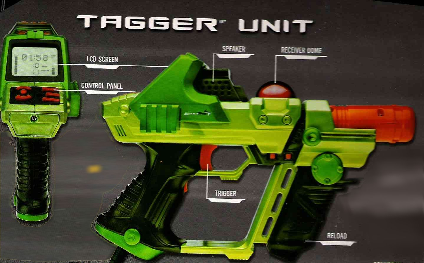 Gear for all ages, Lazer Tag Team Ops, and ST-Pro!
